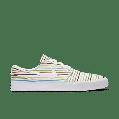 Nike SB Zoom Stefan Janoski Canvas Multi-Color Pinstripes AQ7878-100