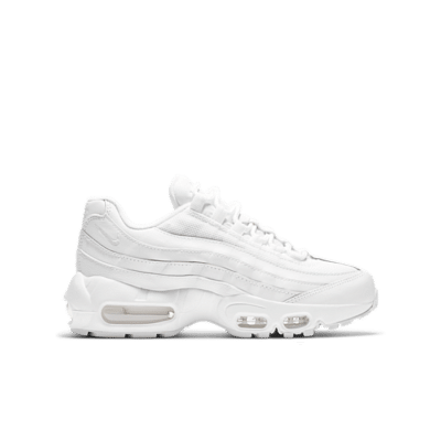 Nike Air Max 95 Recraft Triple White (GS) CJ3906-100