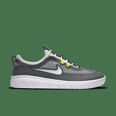 Nike SB Nyjah Free 2 Grey Neon BV2078-003