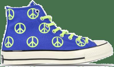 "Converse Chuck 70 HI ""Peace Ghost Green"" 167913C"