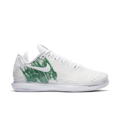 NikeCourt Air Zoom Vapor X Knit Hardcourt Wit AR8835-111