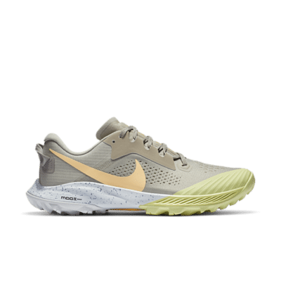 Nike Wmns Air Zoom Terra Kiger 6 'Stone Limelight' Grey CJ0220-200
