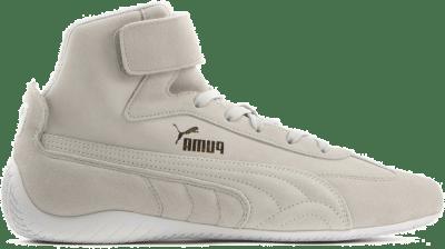 Puma SpeedCat Sparco Mid sportschoenen Grijs / Wit / Goud 306609_02