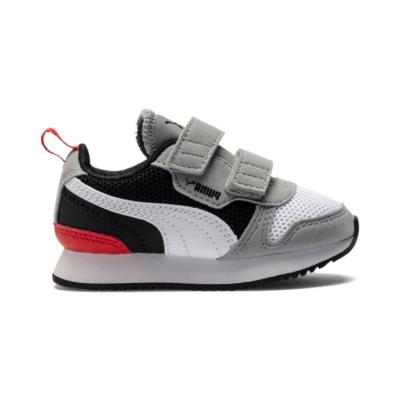 Puma R78 sportschoenen Zwart / Grijs / Wit 373618_09