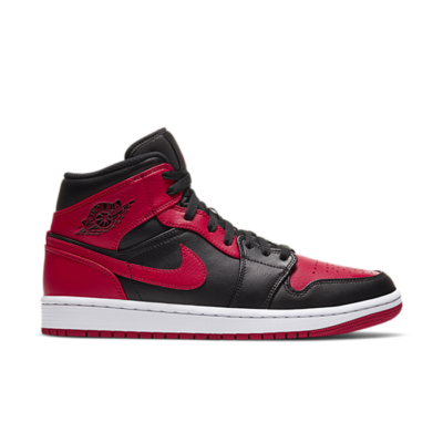 "Air Jordan 1 MID ""BRED"" 554724-074"