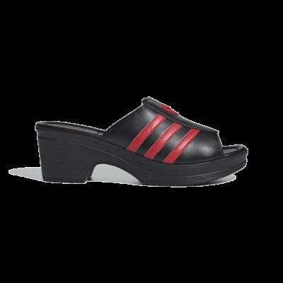adidas Lotta Volkova Trefoil Clogs Core Black FX8460