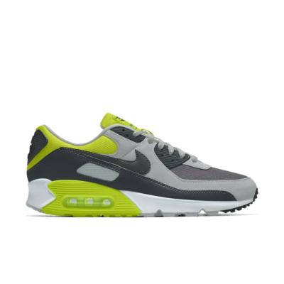 Nike Air Max 90 – By You – Grey Yellow Grey/Yellow CT3620-991-Grey/Yellow