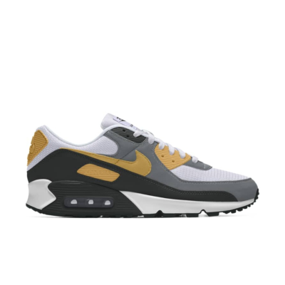 Nike Air Max 90 – By You – Black Grey Brown Black/Grey/Brown CT3621-991-Black/Grey/Brown