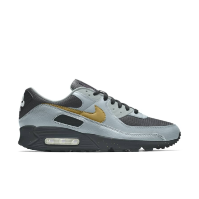 Nike Air Max 90 – By You – Blue Black Gold Blue/Black/Gold CT3619-991-Blue/Black/Gold