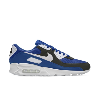 Nike Air Max 90 – By You – Blue Black White Blue/Black/White CT3622-991-Blue/Black/White