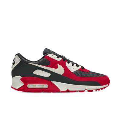 Nike Air Max 90 – By You – Red Black Red Black CT3621-991-Red Black