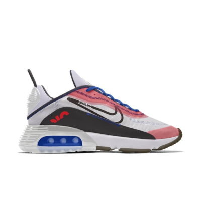 Nike Air Max 2090 – By You – White Pink Black White/Black/Pink CT6693-991-White/Black/Pink