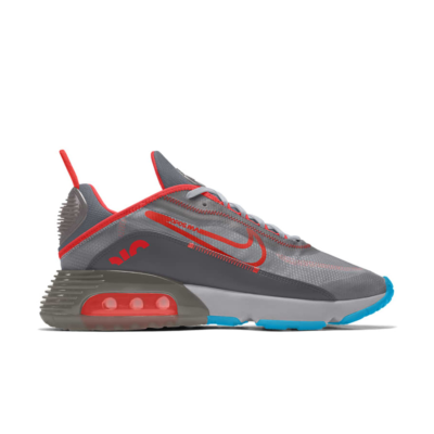 Nike Air Max 2090 – By You – Grey Red Blue Grey/Red/Blue CT6692-991-Grey/Red/Blue