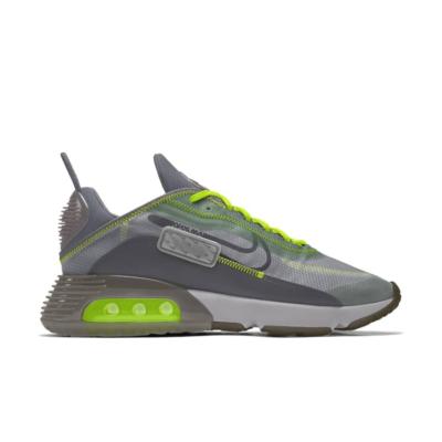 Nike Air Max 2090 – By You – Grey Yellow Grey/Yellow CT6693-991-Grey/Yellow
