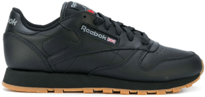 Reebok Classic Leather Schoenen Intense Black / Gum 49804