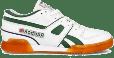 Reebok Pro Workout Lo Schoenen White / Utility Green / Vector Navy FW3386