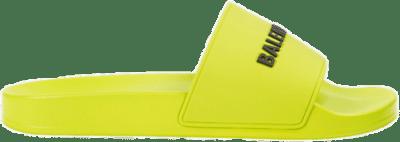 Balenciaga Pool Slide Lime 565826 W1S803501
