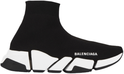Balenciaga Speed 2.0 Black White (W) 617196W17021015