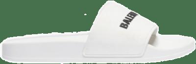 Balenciaga Pool Slide White 565826 W1S80 9034