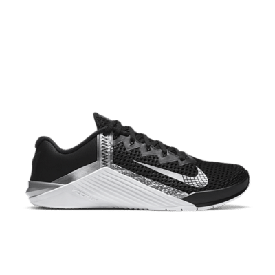 Nike Metcon 6 Black Metallic Silver (W) AT3160-010