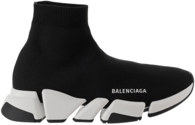 Balenciaga Speed 2.0 Black White 617239W17021015