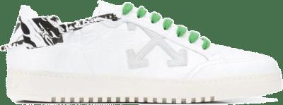 Off-White Croco White Green OMIA042E20LEA0020100