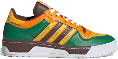 "adidas Originals x HUMAN MADE RIVALRY LOW ""GREEN"" FY1084"
