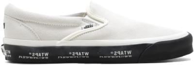 Vans Slip-On WTAPS White Black VN0A45JK20F1