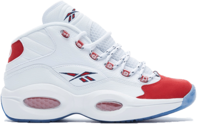 Reebok Question Mid Red Toe 25th Anniversary FY1018
