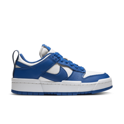 Nike Dunk Low Disrupt 'Game Royal' Summit White/Summit White/Game Royal CK6654-100