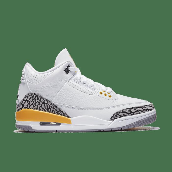 Womenu2019s Air Jordan 3 'Laser Orange' White/Laser Orange/Cement Grey/Black CK9246-108