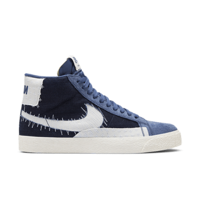 Nike SB Zoom Blazer Mid Premium Mystic Navy  CT0715-400