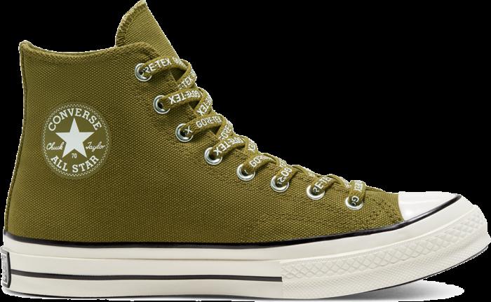 Converse GORE-TEX Utility Chuck 70 High Top Dark Moss/Egret/Black 168859C