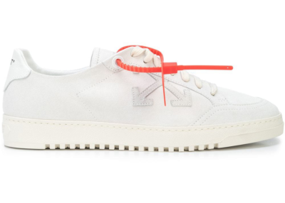 Off-White 2.0 Low Top White Suede OMIA042S207800380101