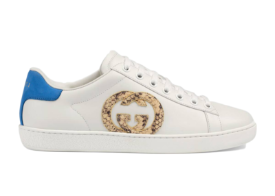 Gucci Ace Interlocking GG Snake (W) 627823 02JW0 9072