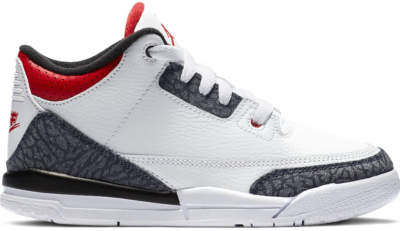 Jordan 3 Retro SE-T Fire Red Denim (PS) DB4168-100