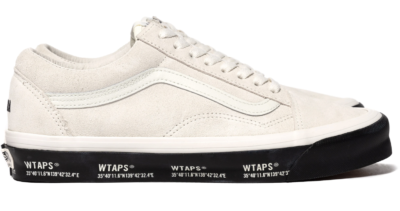 Vans Old Skool WTAPS White Black VN0A4P3X20F