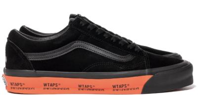 Vans Old Skool WTAPS Black Orange VN0A4P3X20E1