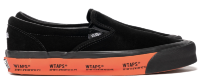 Vans Slip-On WTAPS Black Orange VN0A45JK20E1