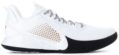 Nike Mamba Fury White Metallic Gold CZ8770-100