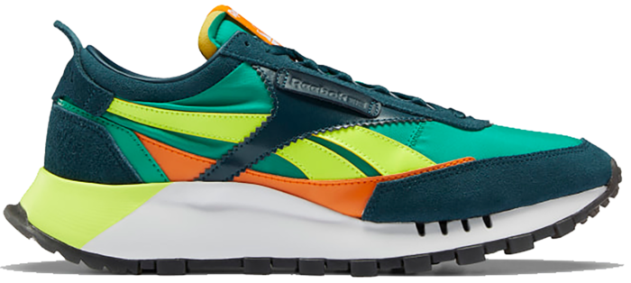 Reebok Classic Leather Legacy Schoenen Mineral Blue / Court Green / Solar Yellow FY7335