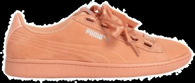 PUMA Vikky Ribbon-satijn Dames Sneakers 366416-05 roze 366416-05