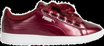PUMA Vikky Ribbon-satijn Dames Sneakers 366417-04 rood 366417-04