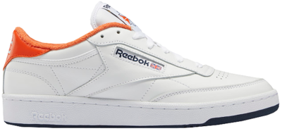 Reebok Club C 85 Eric Emanuel White Orange Navy FY3413