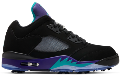 Jordan 5 Retro Low Golf Black Grape CU4523-001