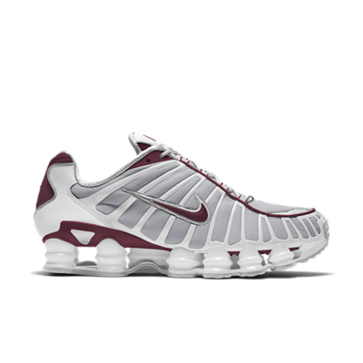 Nike Shox TL Neutral Grey Team Red AV3595-103