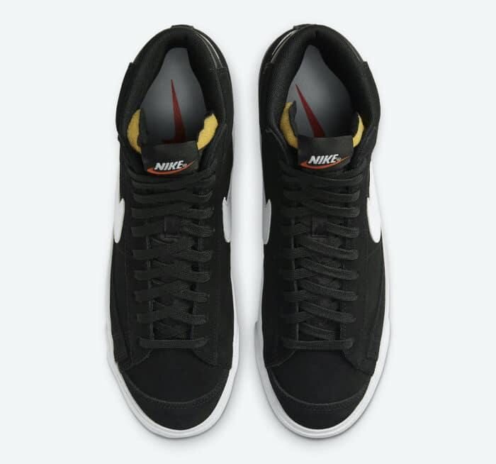 nike blazer 77 black shoe