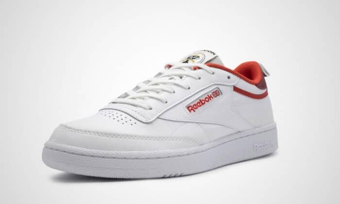 reebok club c white