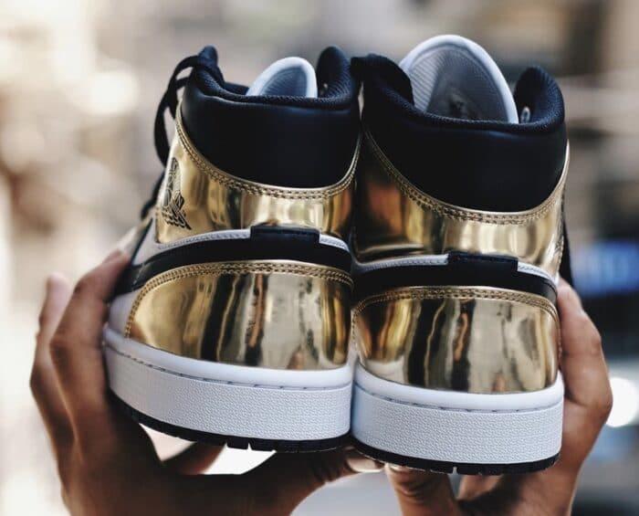 Air Jordan 1 mdi gold