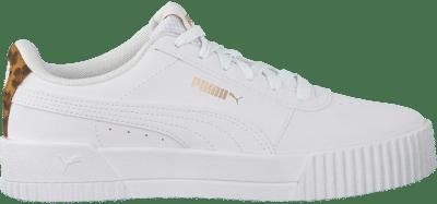 Puma Carina Leo sportschoenen voor Dames Wit 373228_03